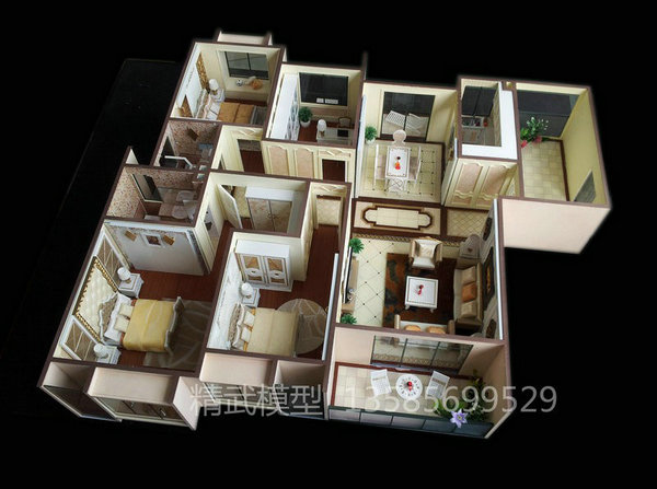 上海户型模型