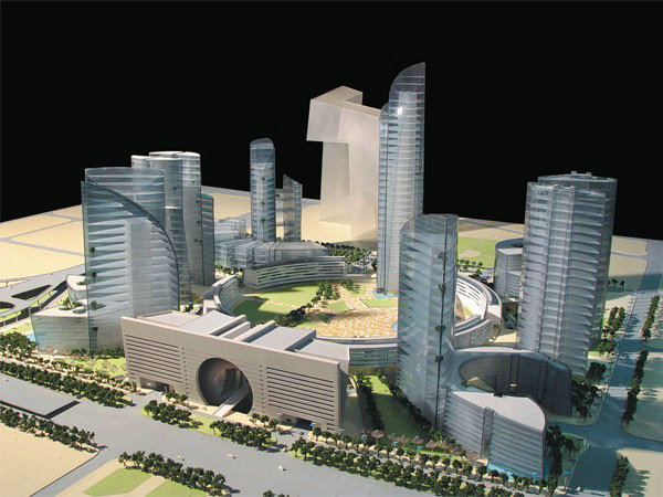 河南北京中央商务区中心区