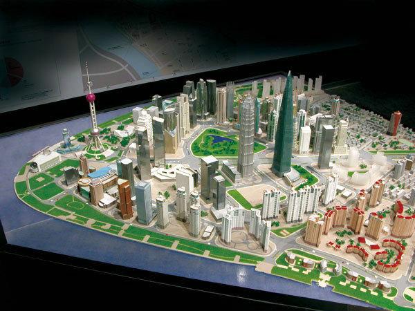 上海陆家嘴中心区