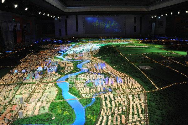 内蒙古呼伦贝尔总体规划模型