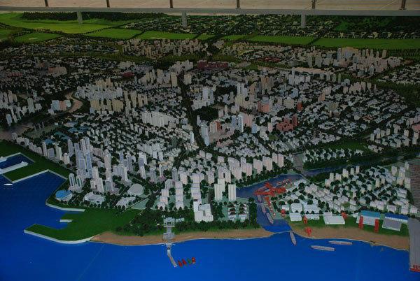 秦皇岛城市总体