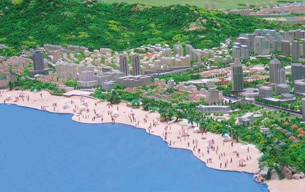 青岛崂山总体