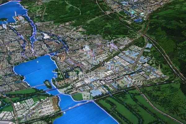河南江苏省宜兴市总体规划模型
