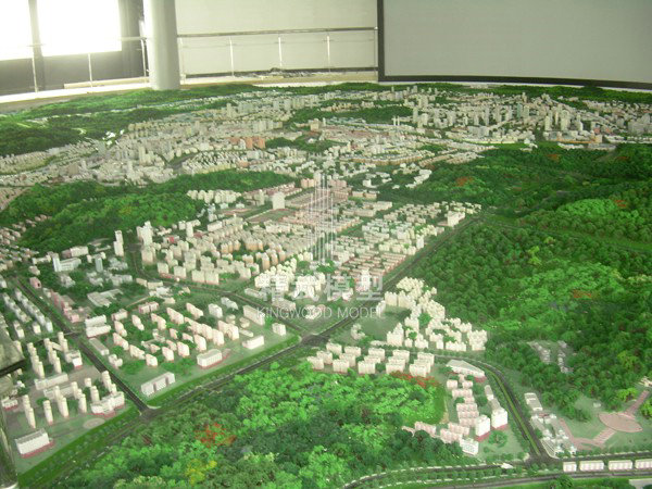 江西省萍乡市总体规划模型
